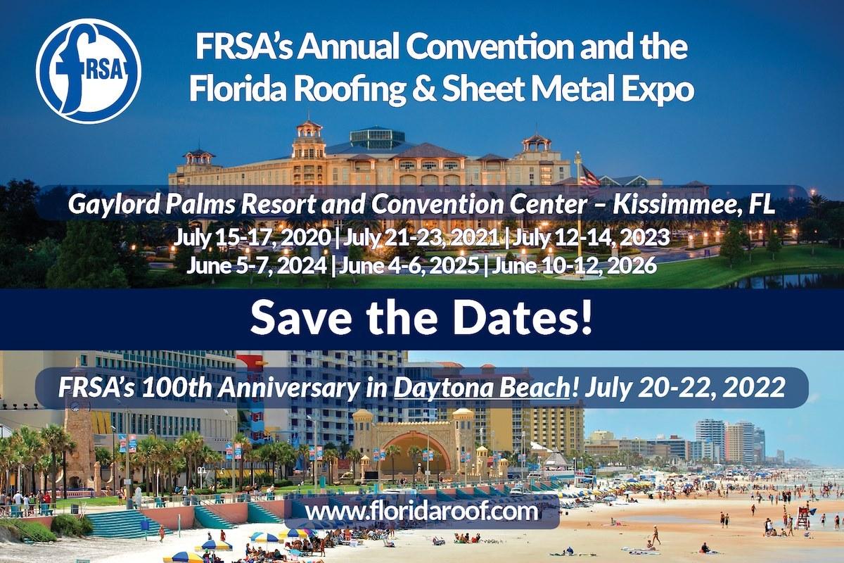 Roofing convention FRSA 100th anniversary daytona beach pic min