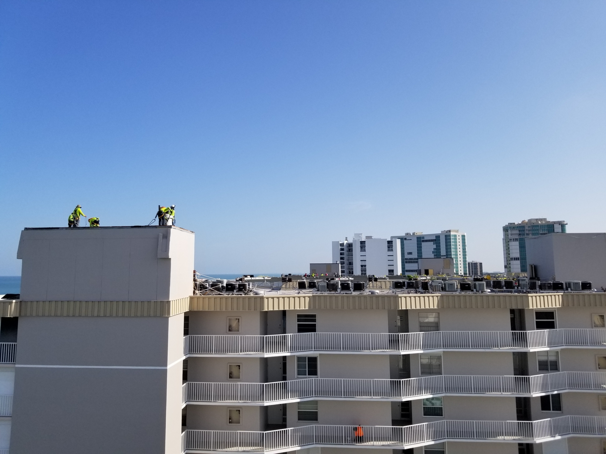 Island End Condo on Fort Myers Beach RoofCheck Service