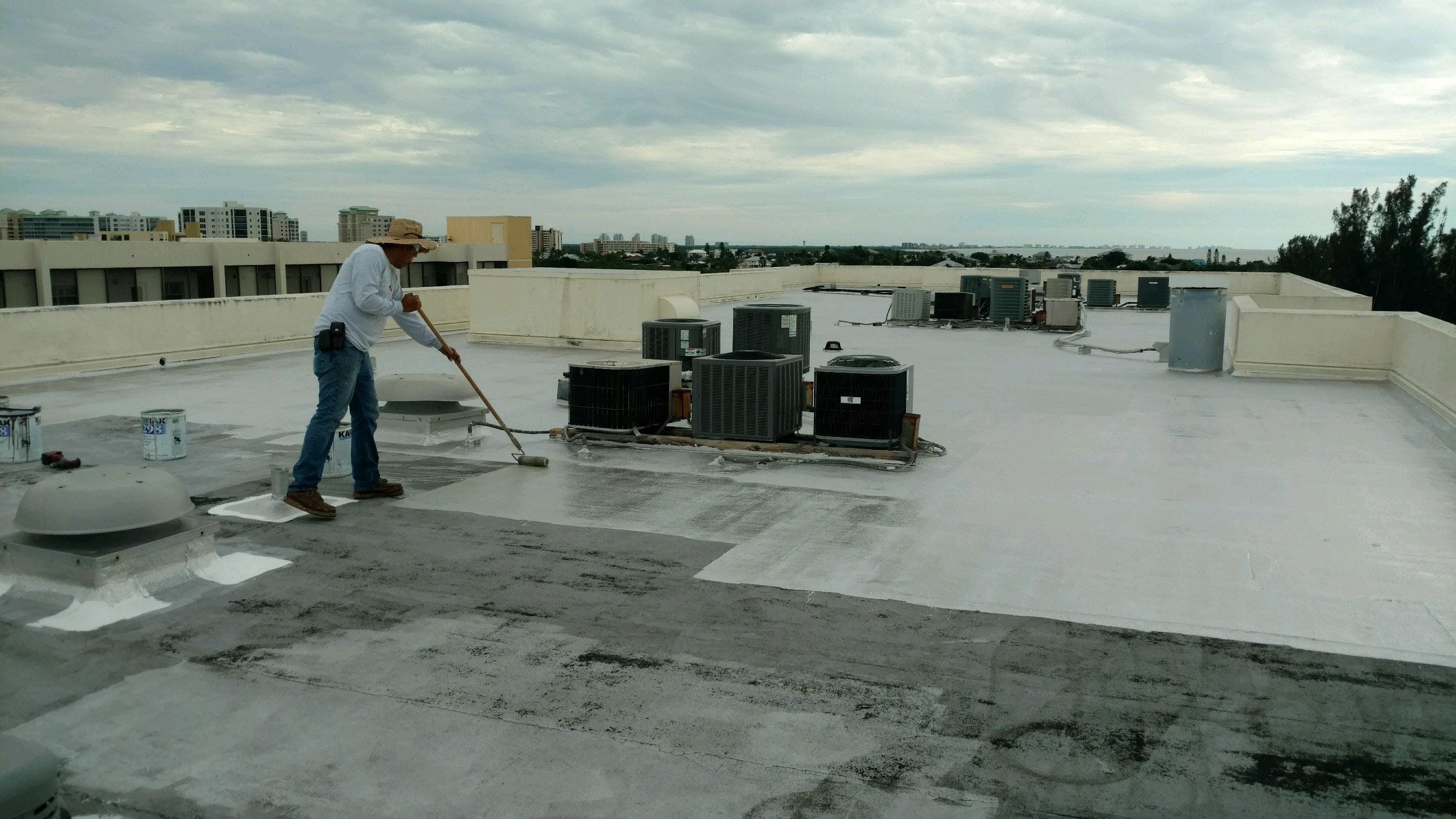 Roof Coating Condo