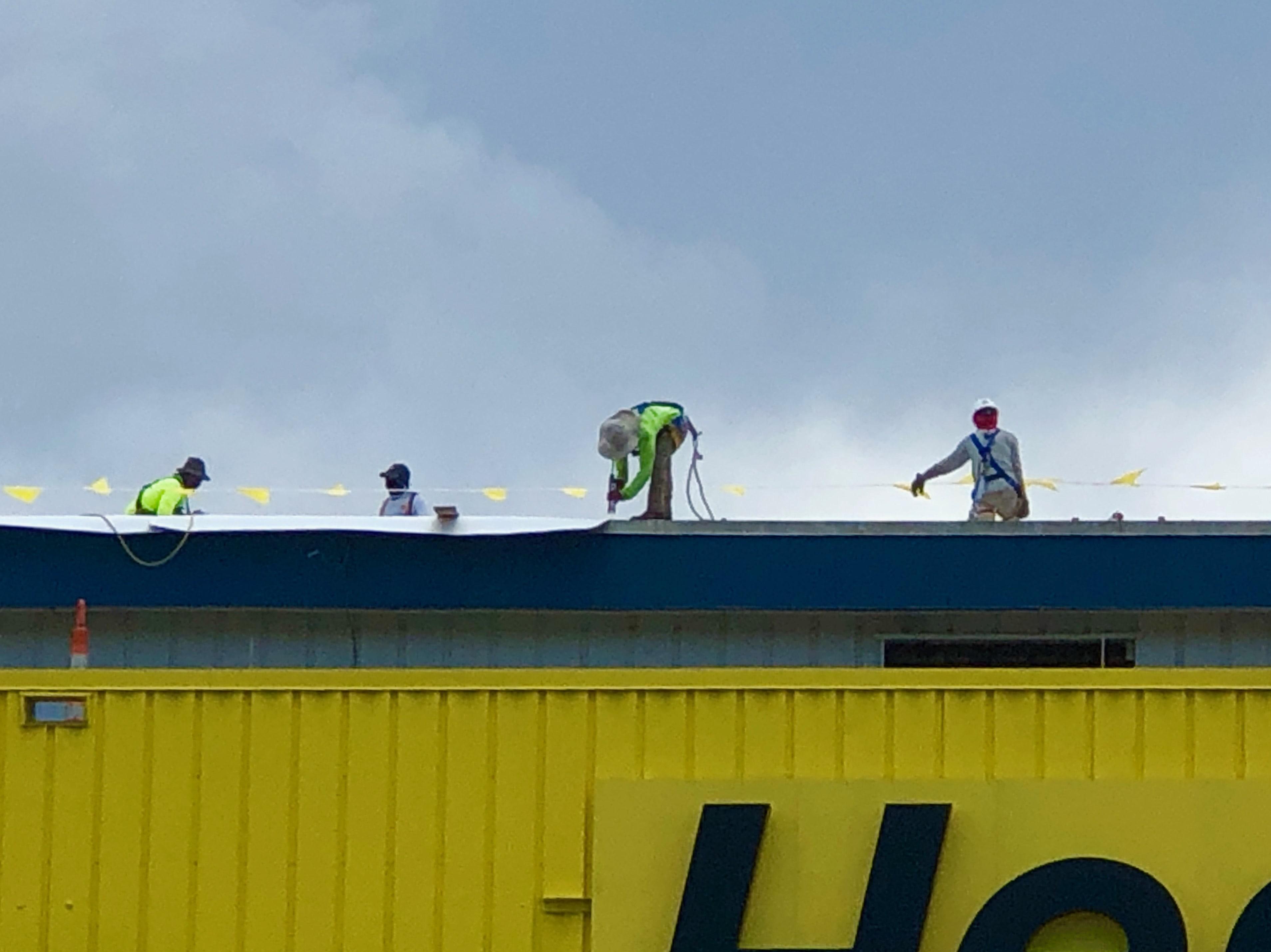 Roof Repair at Hertz Arena
