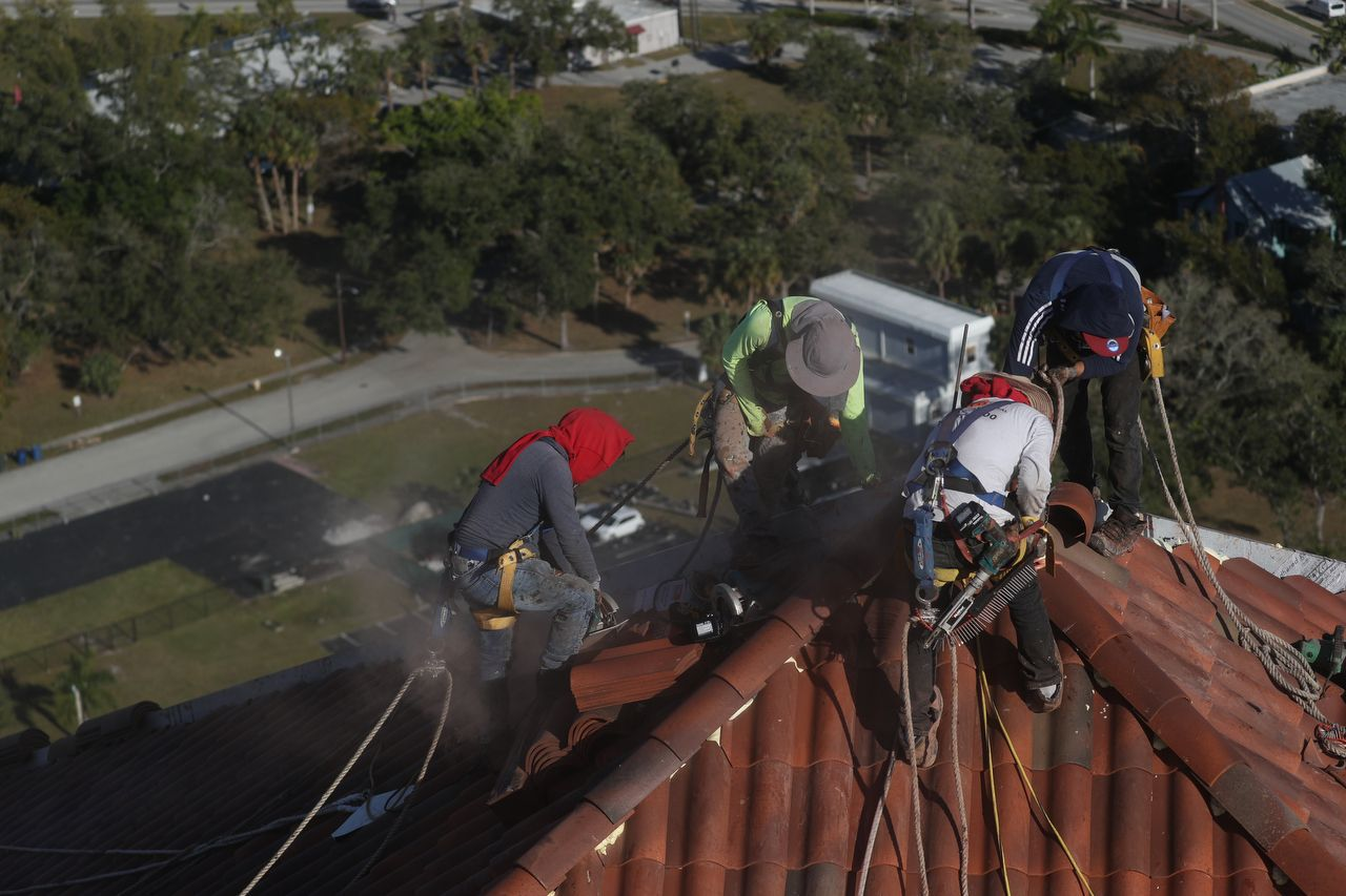 Roof Repair at High Point Place Condo Downtown Ft. Myers