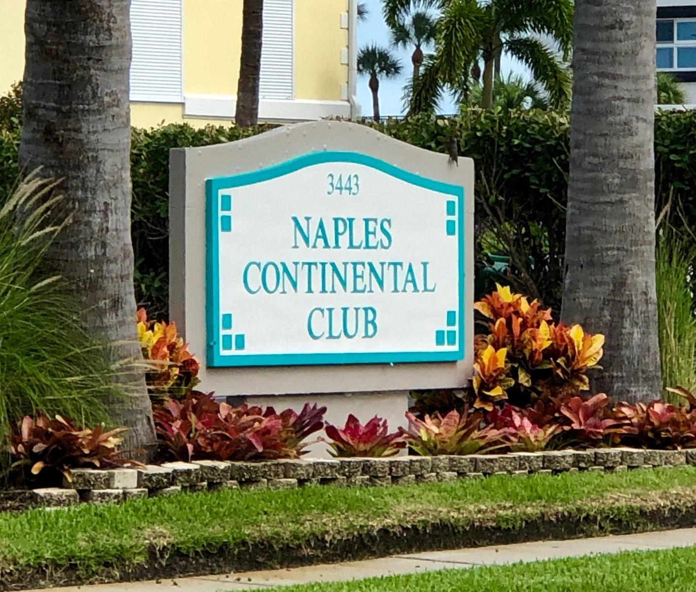 Service Contract for Naples Continental Club