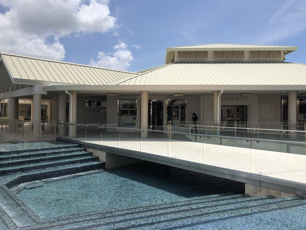 Standing Seam Metal Roof at Waterside Shops in Naples