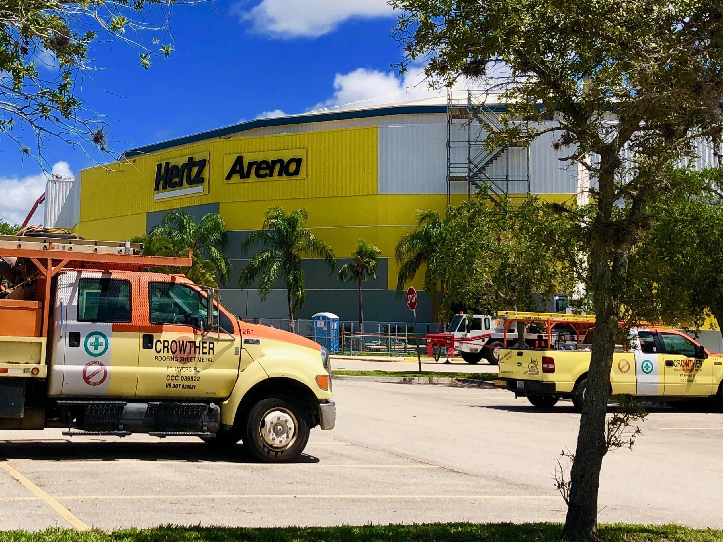 More Trucks at Hertz Arena