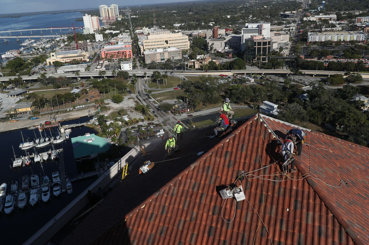 Tile Roof Repairs Downtown Fort Myers