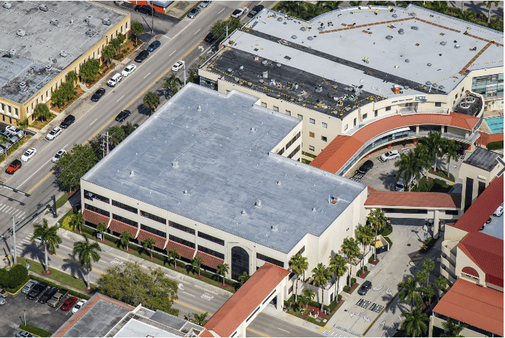 NCH Downtown Naples Flat Re Roofing Project